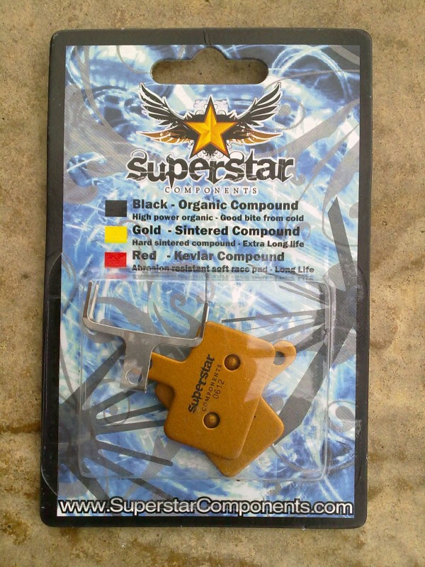 Superstar Sintered Brake Pads