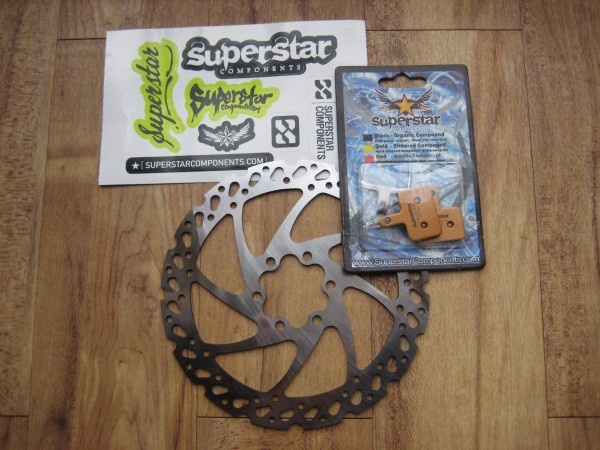 Superstar Sintered Pads and Vibe Rotor