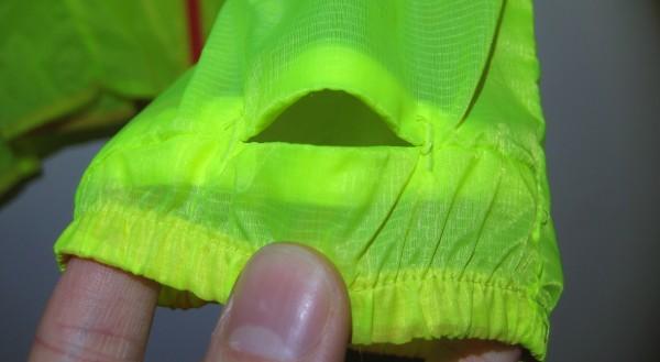 adidas Adizero Climaproof Jacket thumbhole