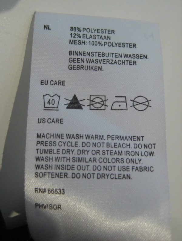 GORE Running Visor Black washing instructions