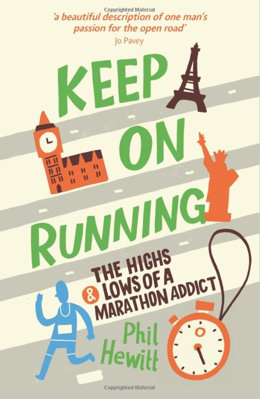 Keep On Running Phil Hewitt Book Cover