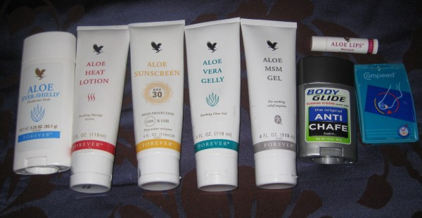 skincare for marathon training