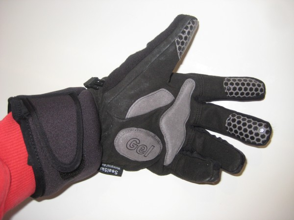 SealSkinz winter cycle gloves gel palm