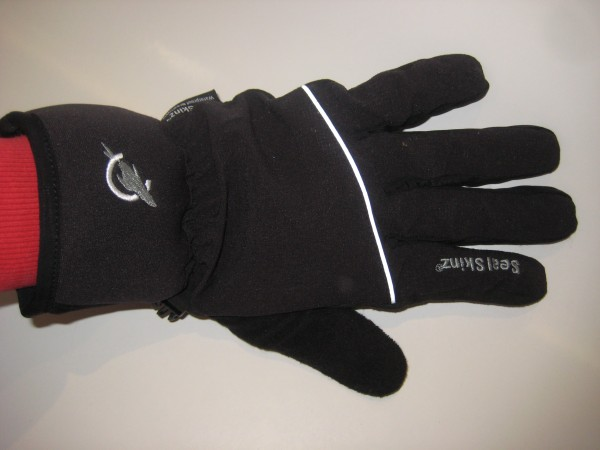 SealSkinz winter cycle gloves reflective