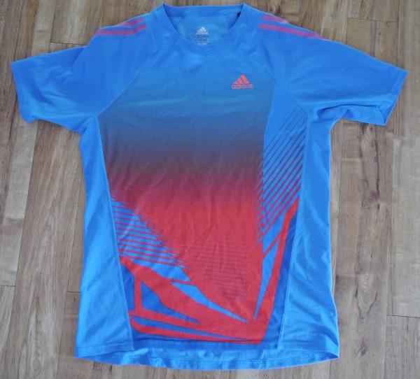 adidas Adizero short sleeve tshirt front2