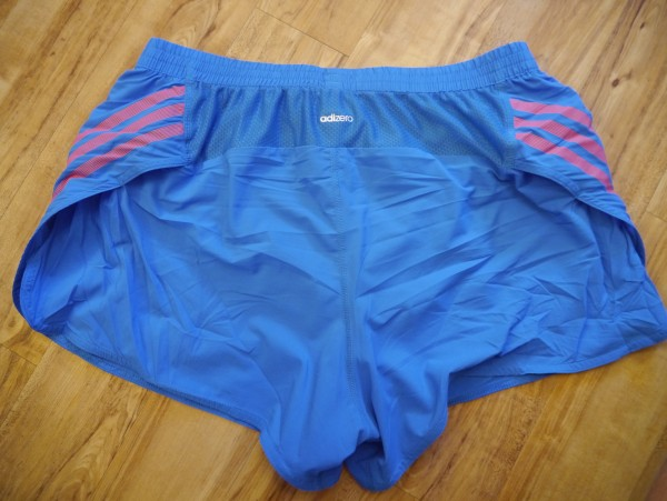 adidas adizero split shorts mens back