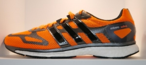 adidas adizero adios boost 2014 mens orange side