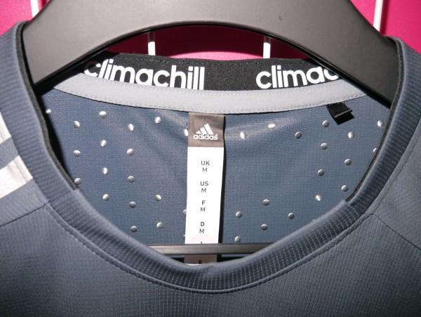 adidas Training tshirt 2014 mens climachill titanium dots