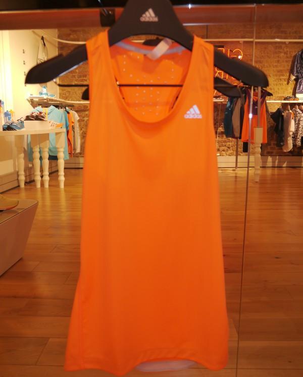 adidas Training singlet 2014 womens climachill front focus fail