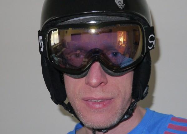 Scott Aura Light Sensitive Goggles front