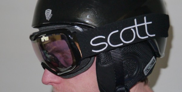 Scott Aura Light Sensitive Goggles side