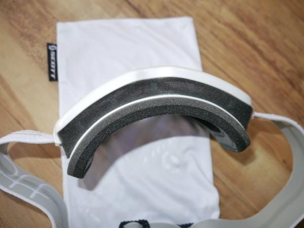 Scott Aura Light Sensitive Goggles top