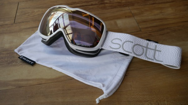 Scott Aura Light Sensitive Goggles white 2