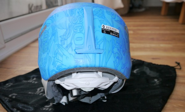 Scott Keeper Kids Helmet back