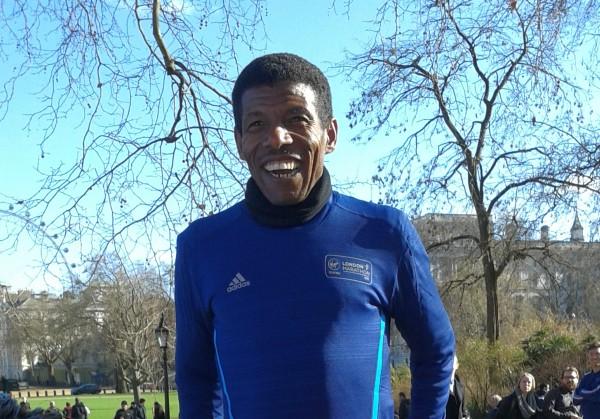 Haile Gebrsalassie Smiling