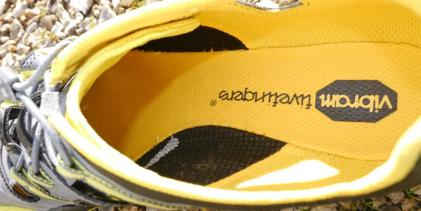 Vibram TrekSport Sandals inside