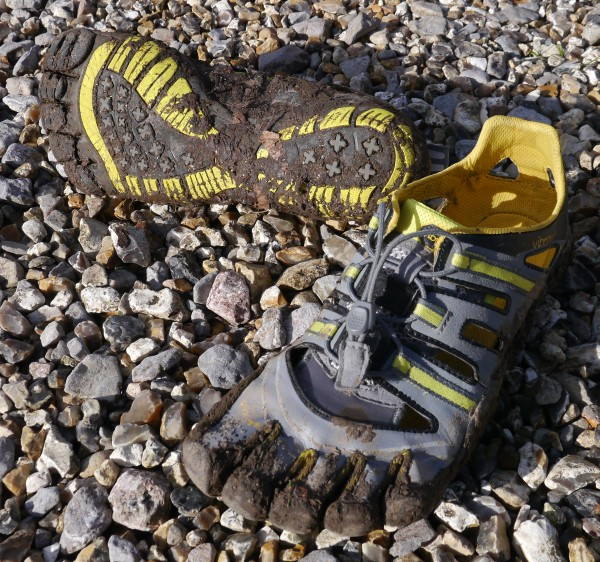 Vibram TrekSport Sandals mud