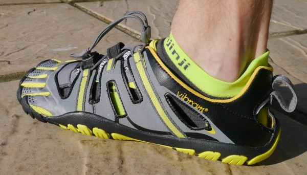 Vibram TrekSport Sandals outside