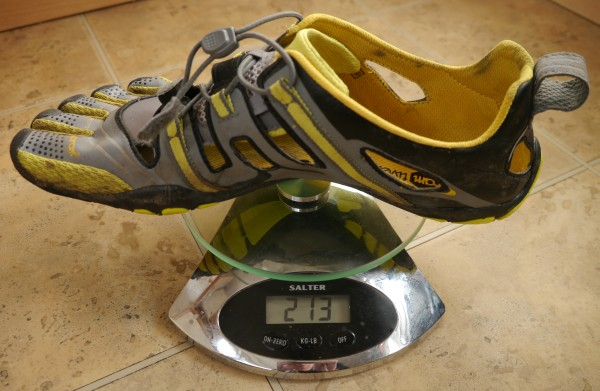 Vibram TrekSport Sandals weight