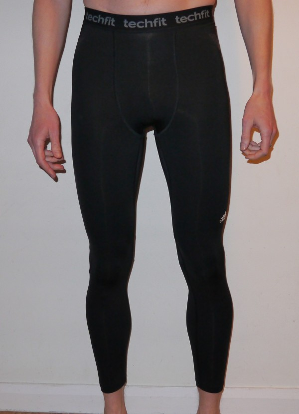 adidas techfit preparation compression running tights front