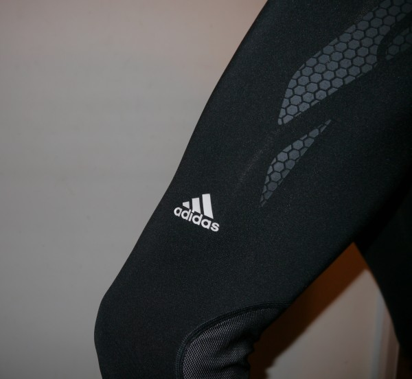 adidas techfit preparation compression running tights logo
