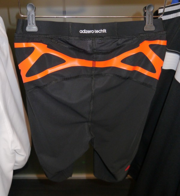 adidas adizero Techfit shorts back