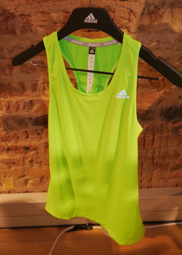 adidas climachill womens singlet front