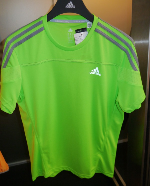 adidas response short sleeve tshirt front
