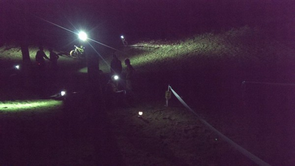 QECP Day and Night Enduro end of stage 3