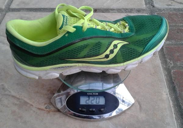 Saucony Virrata weight