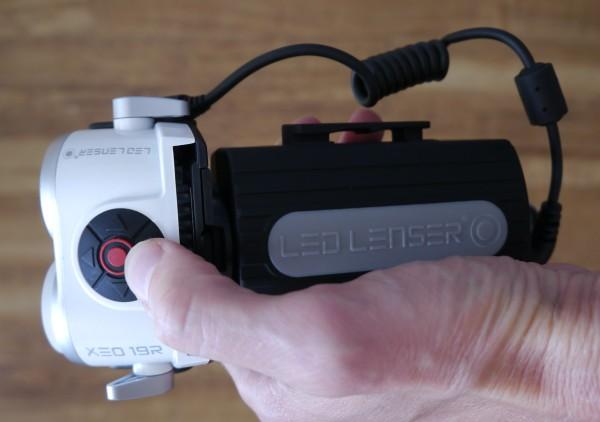 LED Lenser XEO19R as torch