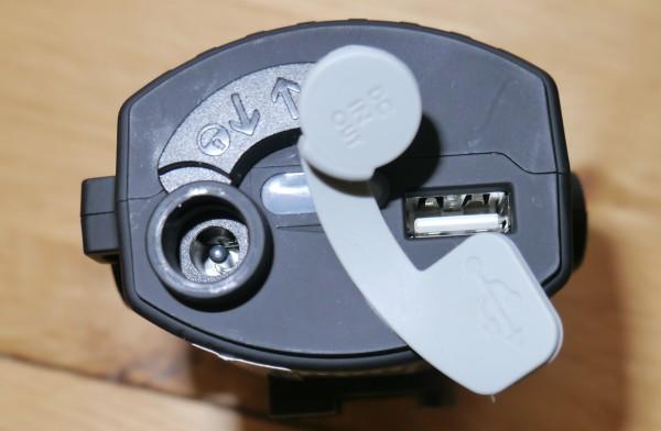 LED Lenser XEO19R battery pack USB