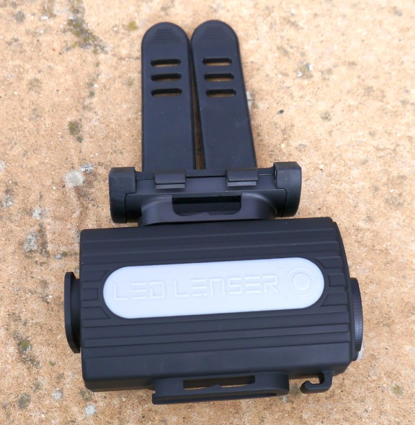 LED Lenser XEO19R battery pack frame mount1