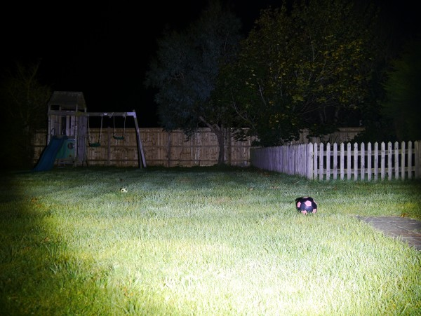 LED Lenser XEO19R beam shot boosted wide