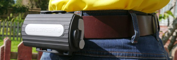 LED Lenser XEO19R belt clip