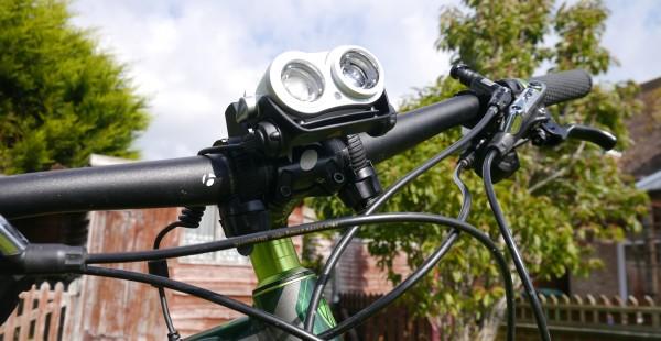 LED Lenser XEO19R handlebar mount1