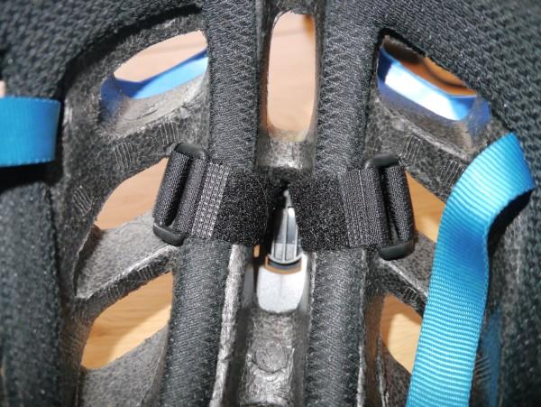 LED Lenser XEO19R helmet mount straps