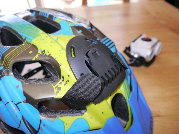LED Lenser XEO19R helmet mount