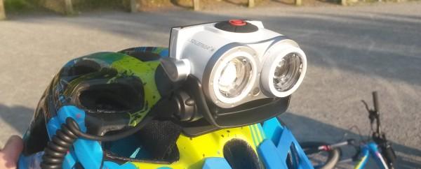 LED Lenser XEO19R helmet pic