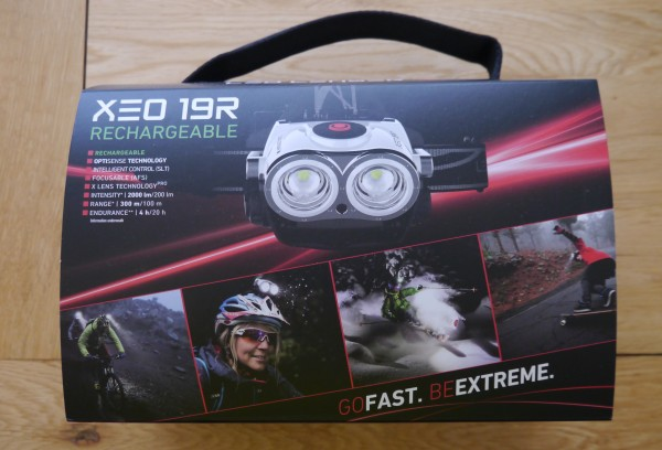 LED Lenser XEO19R packing