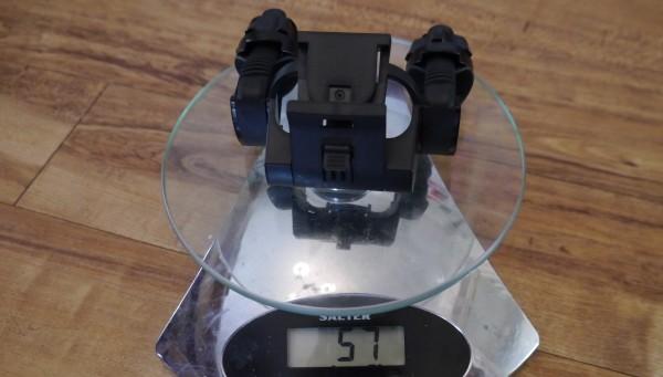 LED Lenser XEO19R weight handlebar mount