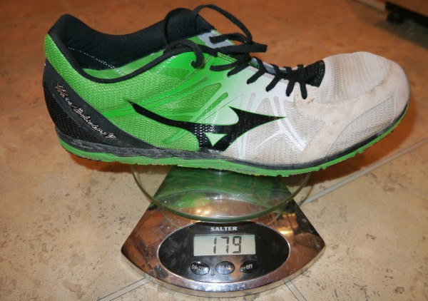 Mizuno Wave Ekiden 9 weight