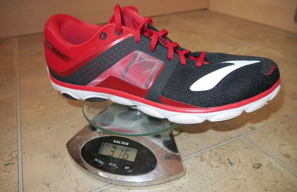 Brooks Pureflow 4 weight size 12