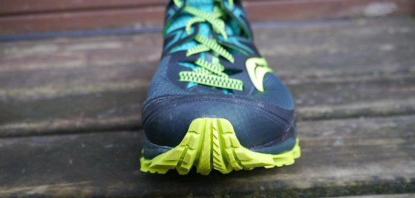 saucony peregrine iso review toe