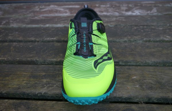 saucony switchback review upper
